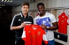 Victor Wanyama is a Southampton player