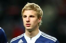 Austrian defender scores from 70 yards in pre-season friendly