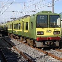 14 windows smashed on DART carriage by youths