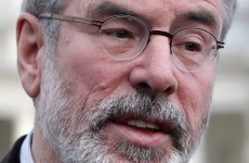 Gerry Adams wants to restrict the sale of alcohol in the Dáil bar