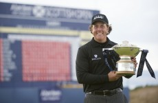 Phil Mickelson in the mood for Claret Jug after gutsy Scottish Open win