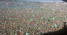 Here's what a pitch invasion looks like...Limerick style