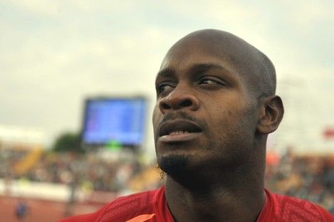 Asafa Powell of Jamaica is one of the athletes to have failed a drugs test.