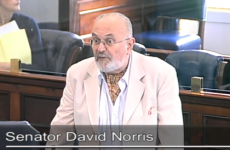 Video: David Norris accuses Fine Gael TD of 'speaking out of her f***y'