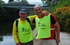 Blind man walks 140km from Longford to Dublin to help wheelchair users