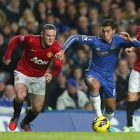 'Rooney would be a brilliant signing' declares Chelsea playmaker Hazard