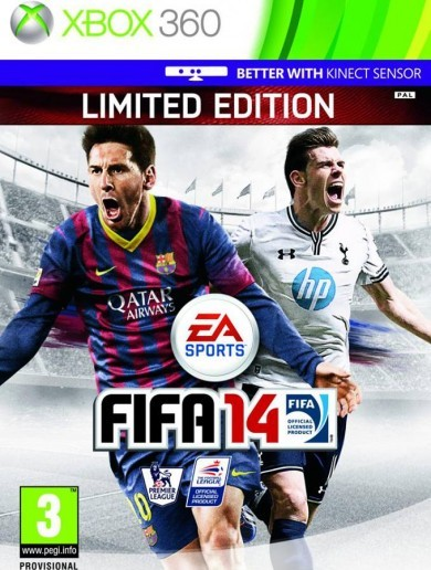 Today in Gareth Bale news, Gareth Bale is on the cover of FIFA 14