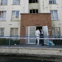 Man arrested over Clondalkin apartment fire
