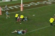 Streaker causes utter chaos in State of Origin decider