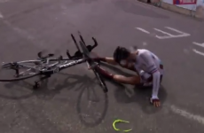 Tour de France rider had a fractured collarbone BEFORE this crash