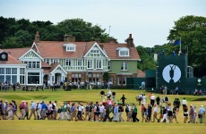 The Open gets underway at Muirfield