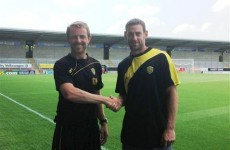 Rory Delap takes his long throws to League Two Burton Albion