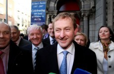 Maiden speeches jump on Enda Kenny's victory chariot