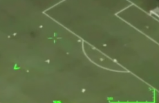 Brazilian air force drone films Neymar's goal v Japan