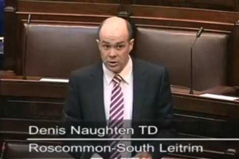 Independent TD Denis Naughton
