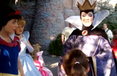 Evil Queen at Disneyland gives best reply ever to little girl