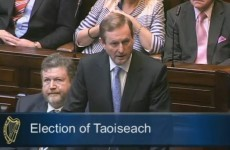 Kenny elected Taoiseach 'on the threshold of change'