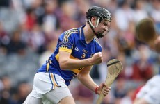 Tipperary U21 hurler John McGrath hits brilliant point while on his knees