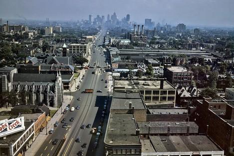 Woodward Avenue in Detroit, Michigan (File photo)