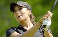 Tiger Woods' niece Cheyenne roars into Spanish Open lead