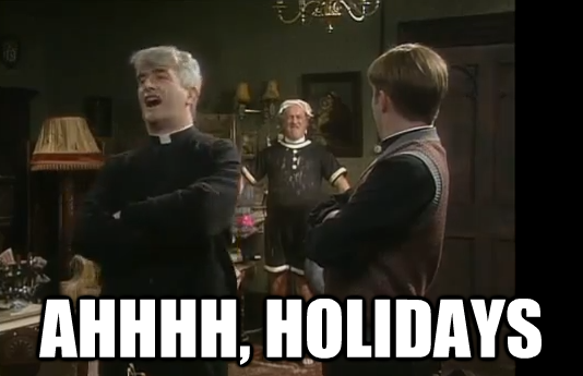 11 things Father Ted taught us about going on our holidays