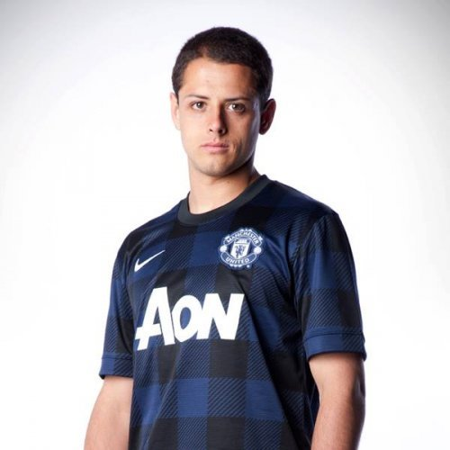 Man United Launch New Black And Navy Check Kit The42