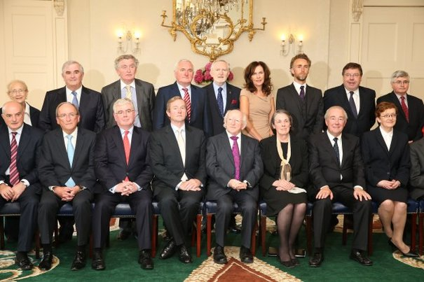 In pics: President Michael D Higgins concludes meeting with