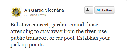 The very best of the Garda Traffic Twitter account · The