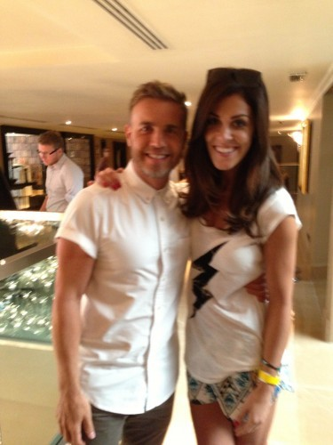 Xpose on TV3 Gary Barlow and Glenda Gilson