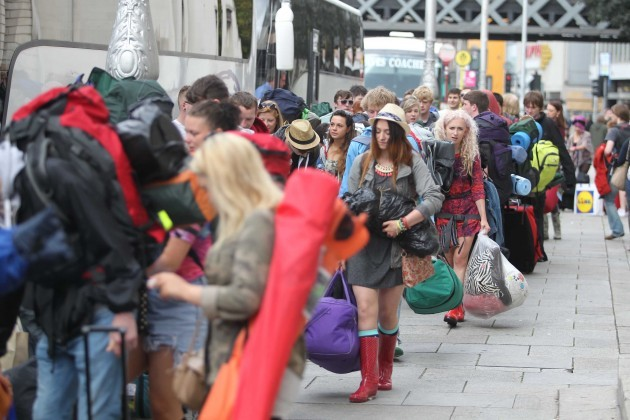 Electric Picnic. Pictured People que u