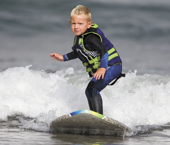 Surfing 3 Year Old