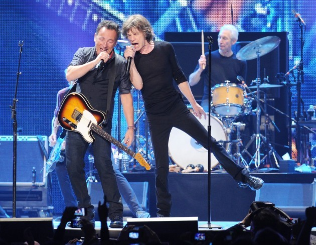 The Rolling Stones '50 and Counting' Concert - Newark