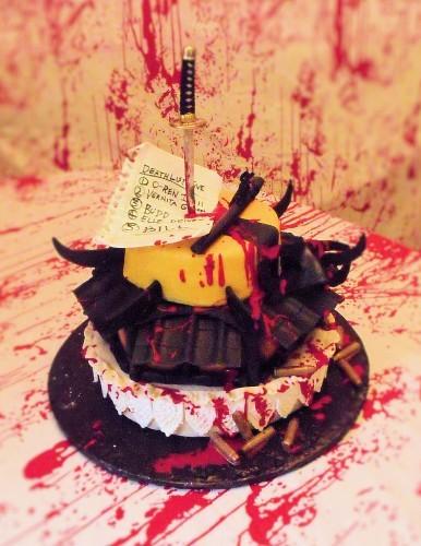 kill bill cake 1