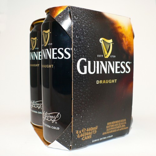 Canned Guinness flavour