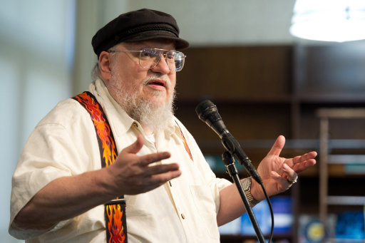 George RR Martin Book Signing - New York