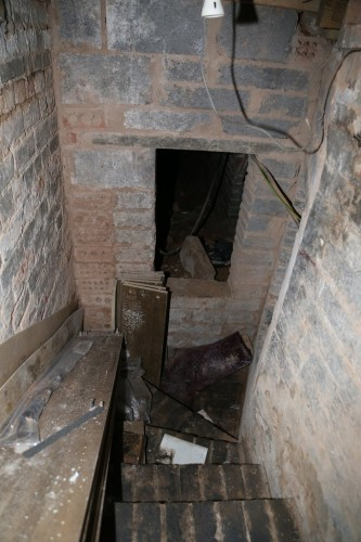 Irish Man Discovers Secret Dungeon Under His Apartment Floor