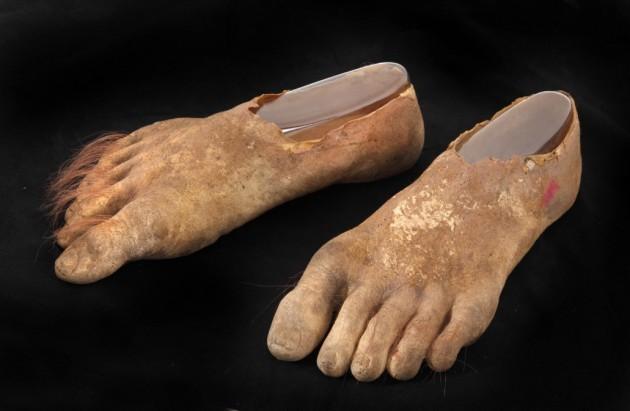 Samwise Prosthetic Hobbit Feet