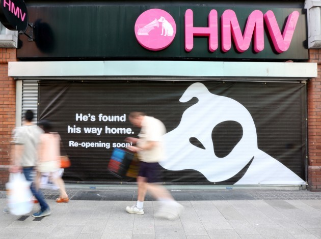 21/8/2013. HMV Shops to Reopen