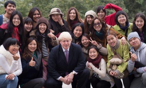 Boris Johnson visits China