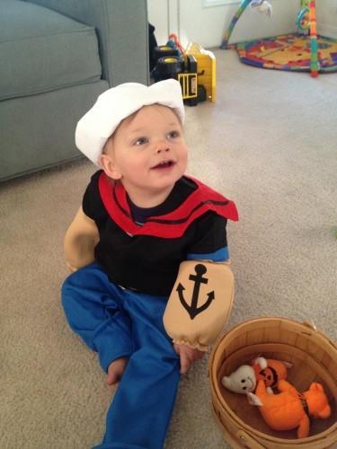 My son Carter's first Halloween - Imgur