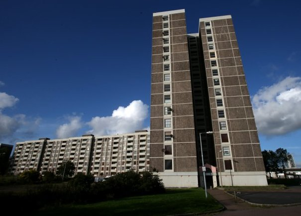 PICS One Of Last Ballymun Tower Block Residents Prepares