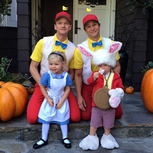 Most adorable NPH family halloween costume yet? - Imgur