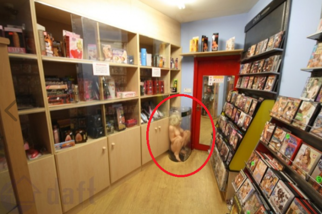 Peek inside this sex shop for sale in Dublin (NSFW) · The