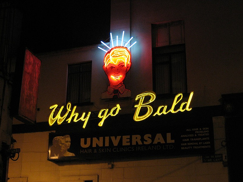 Why go bald?