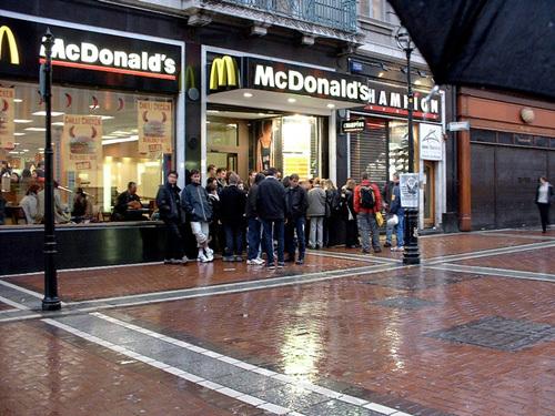 mcdonalds grafton street