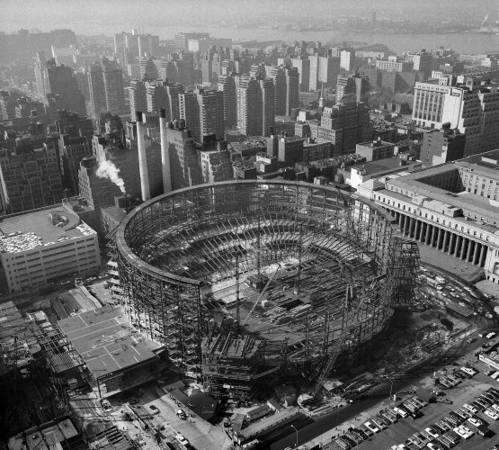 This is what was lost when penn station was demolished 50 - How old is madison square garden ...