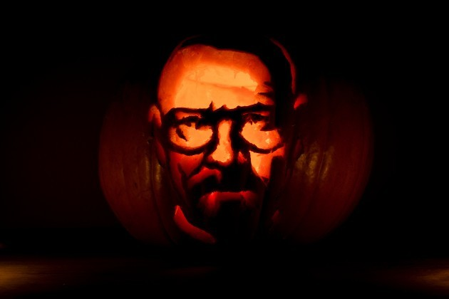 Walter White Carving - 30.10.13 - 01