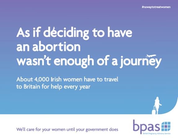 Stop exporting your abortion problem, Britain tells Ireland