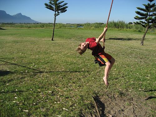 Joshua swinging