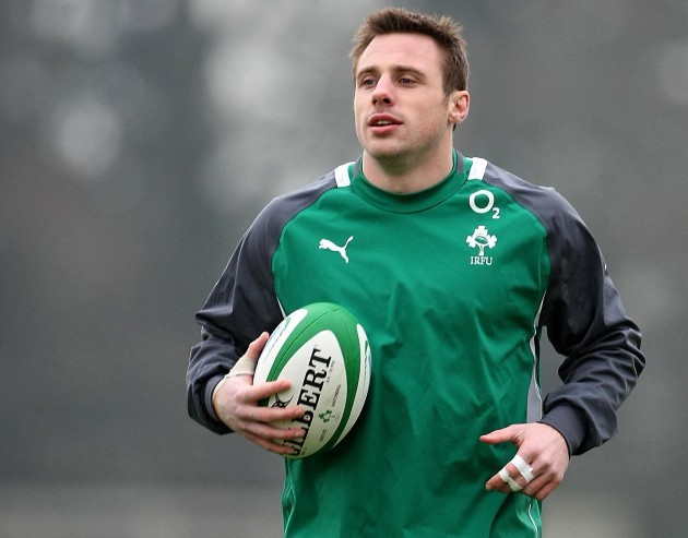 Rugby Union - RBS 6 Nations - Ireland v Wales - Ireland Training Session - Carton House